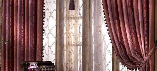 教你高档窗帘的清洗和维护