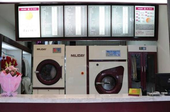 开干洗店加盟好还是自己买设备自主开店好?
